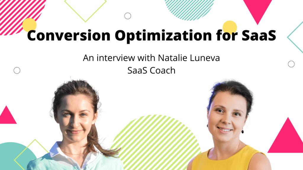 Natalie Luneva Helps SaaS Companies Optimize